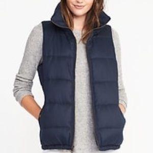 Fleeced Lined Puffer Vest